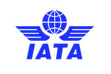 International Air Transport Association (IATA) logo blue
